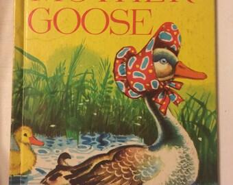 Vintage Mother Goose Book 1946