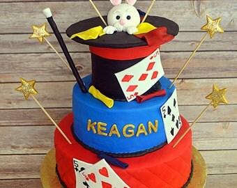 Magic Theme cake decorating Kit (100% Edible)