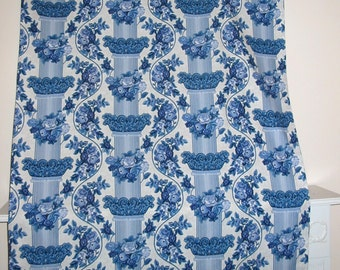 "Blue Pillar ""Quick Cover"", Tablecloth, or Curtain"
