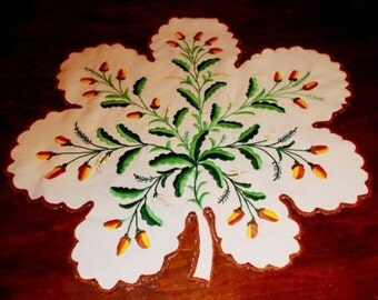 Hand made embroidered Hungarian doily