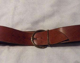 Vintage 1980's Handmade Women's Belt