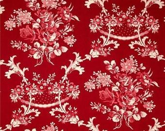 Rustic Blush Toile Free Spirit Fabrics Verna Mosquera Cotton BFab