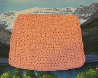 0310 Hand crochet dish cloth 7.5 by 7.5