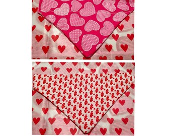 Valentine's Day Pet Bandanas