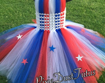 4th of July Tutu Dress