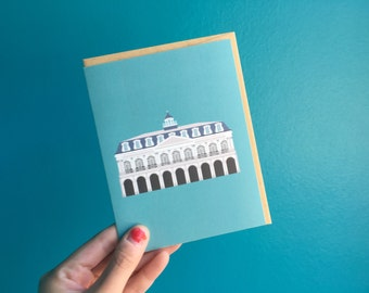 New Orleans Greeting Card, The Cabildo Historic Museum Preservation, Architecture Louisiana