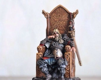 Toy lead soldier,Canute the Viking ,hand made and hand-painted,Collectable,miniature figure