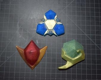 Legend of Zelda Spiritual Stones Soap set, Twilight woods scent