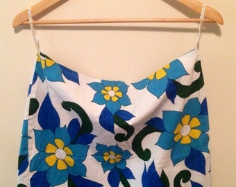 Vintage '60s Flower Power Skirt