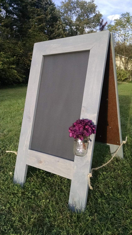 rustic sandwich chalkboard a frame chalkboard kids. Black Bedroom Furniture Sets. Home Design Ideas