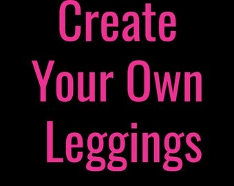 Custom Printed Leggings by Legs247.com