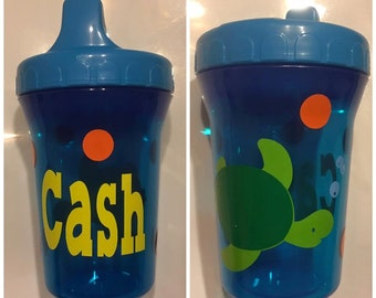 Personalized Sippy Cup, Monogrammed Sippy Cup, Personalized Infant Cup, Personalized Sippie Cup, Monogrammed Sippie Cup