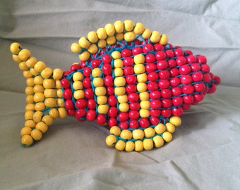 Red Beaded Fish