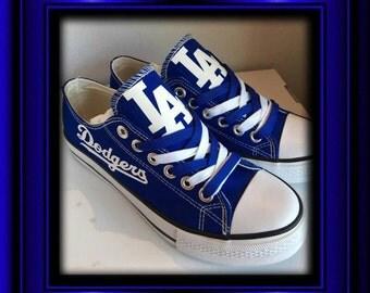 LA Dodgers WOMENS  tennis shoes