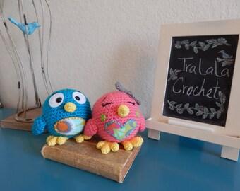 Small Crochet Love Birds- Lovey Birds
