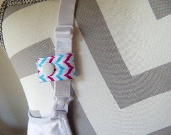 Nursing Reminder - Purple and Blue Chevron, Breastfeeding Reminder