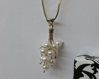 Necklace pendant with Pearl SK633