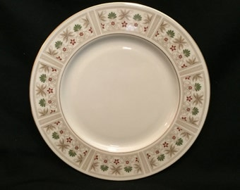 "FREE SHIPPING-Fabulous-Lenox-Tableau-10 1/2""-Made In USA-Dinner Plate"