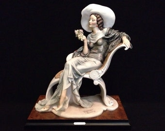FREE SHIPPING-Fabulous-Made In Italy-Giuseppe Armani-634/C-At Ease-Limited Edition-1331/5000-Sculpture
