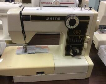 WHITE heavy duty used sewing machine model# 999