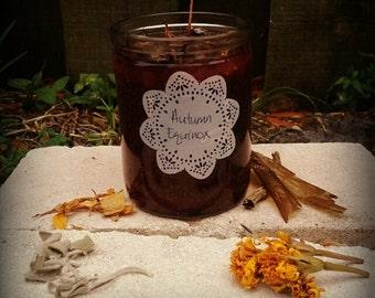 Autumnn Equinox Candle