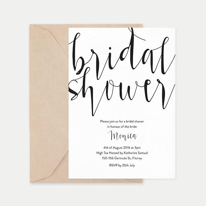 Bridal shower invitation, Black and white bridal shower invitations, Printable bridal shower invitations, Hens party invitations, Hens night