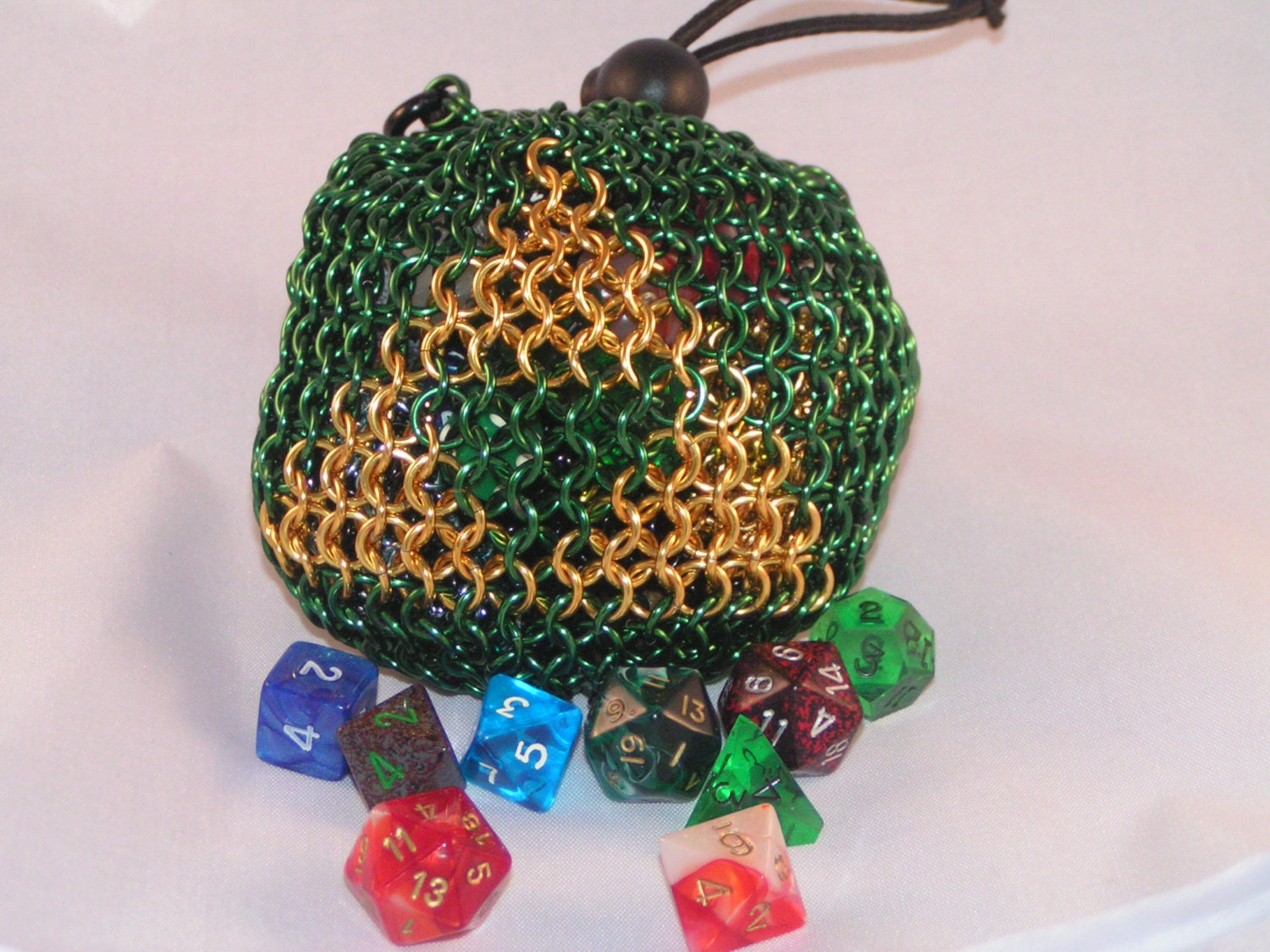 It's just a picture of Critical Dice Bag Printable Pattern