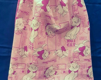"Aristocats/Disney/Drawstring Bag/Backpack/Handmade  child's ""Aristocats"" drawstring bag"
