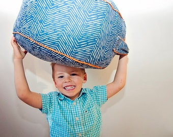 Geo Lines Floor Cushion Toddler Pillow Pouf