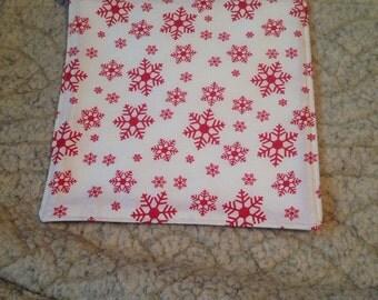 Christmas Snowflake trivit pan cloth