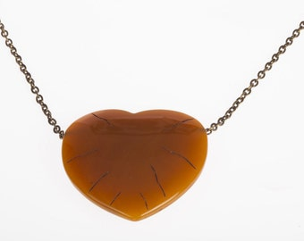 Diane von Furstenberg Heart Necklace