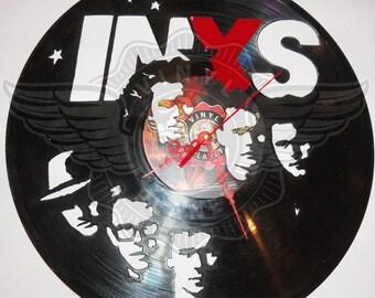 Vinyl Wall Clock INXS