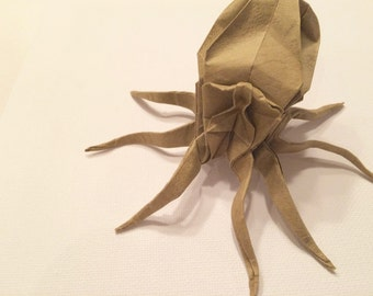 Origami octopus