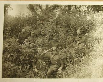 Militaru photo 1942.g. Latvia