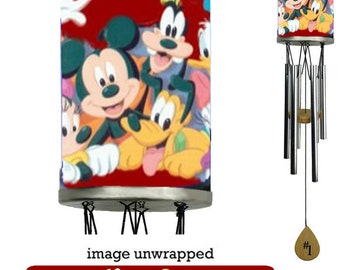 Disney Characters Wind Chime, Mickey, Minnie Mouse and more