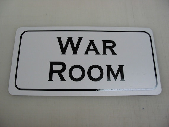 Man Cave War Room : War room metal sign for farm ranch or kitchen decor golf