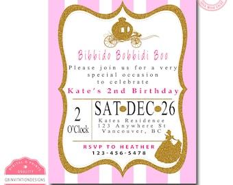 PRINCESS BIRTHDAY Invitation PRINTABLE
