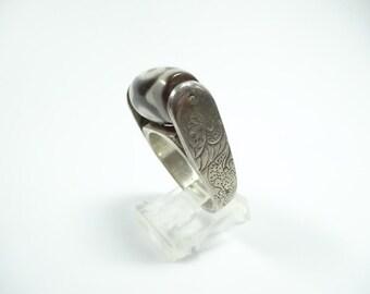 Antique Three Eye DZI Ring