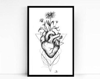 Peaceful Love Fine Art Print