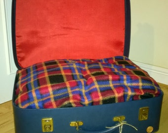 Pet Bed in a Suitcase