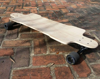 Custom longboard deck (Deck only - no trucks or wheels)