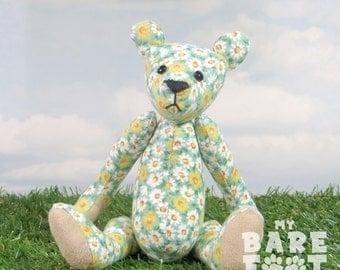 Artist Teddy Bear 'Daisy' OOAK hand crafted - My Bear Foot Bears