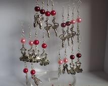 BALANCE-30% earrings dance tutus, slippers, ballerinas, red loops loops loops loops