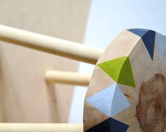 kids' birch stool 15'