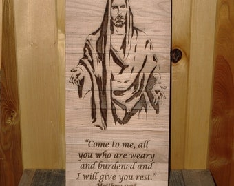 Come to me, all you who are weary and burdened and i will give you rest. Matthew 11:28