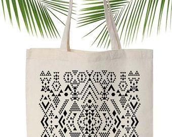 Ethnic Screen printed canvas tote bag,Original ANJESY designs.