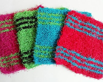 Scrubbies: Crochet Scrubbies - Dish Scrubbies - Pot Scrubber