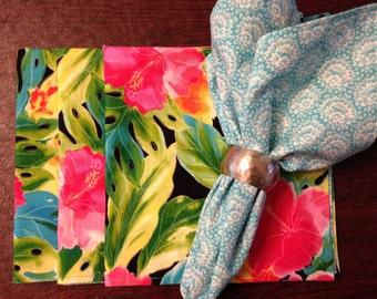 Tropical Fabric Napkins (set of 4)
