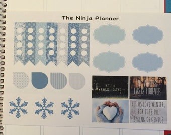 Snowflake Winter Kit