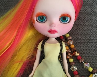 "OOAK Custom Blythe Doll ""Phoenix"""